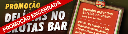 Promo��o Delicias no Brotas Bar